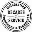 decades of service experience & excellence